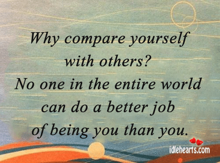 Comparing-Yourself